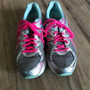 Asics Shoes - Women's ASICS Size 8.5 Pink and Blue